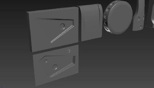 1934602 - مدلسازی اجسام پیشرفته در تری دی مکس به همراه فایل تمرین قسمت اول